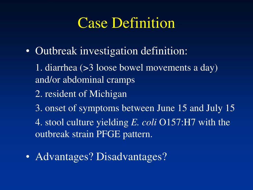 Case Definition