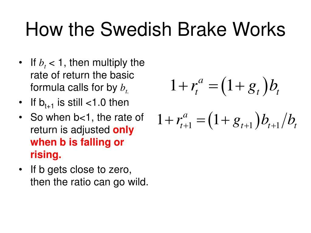 How the Swedish Brake Works
