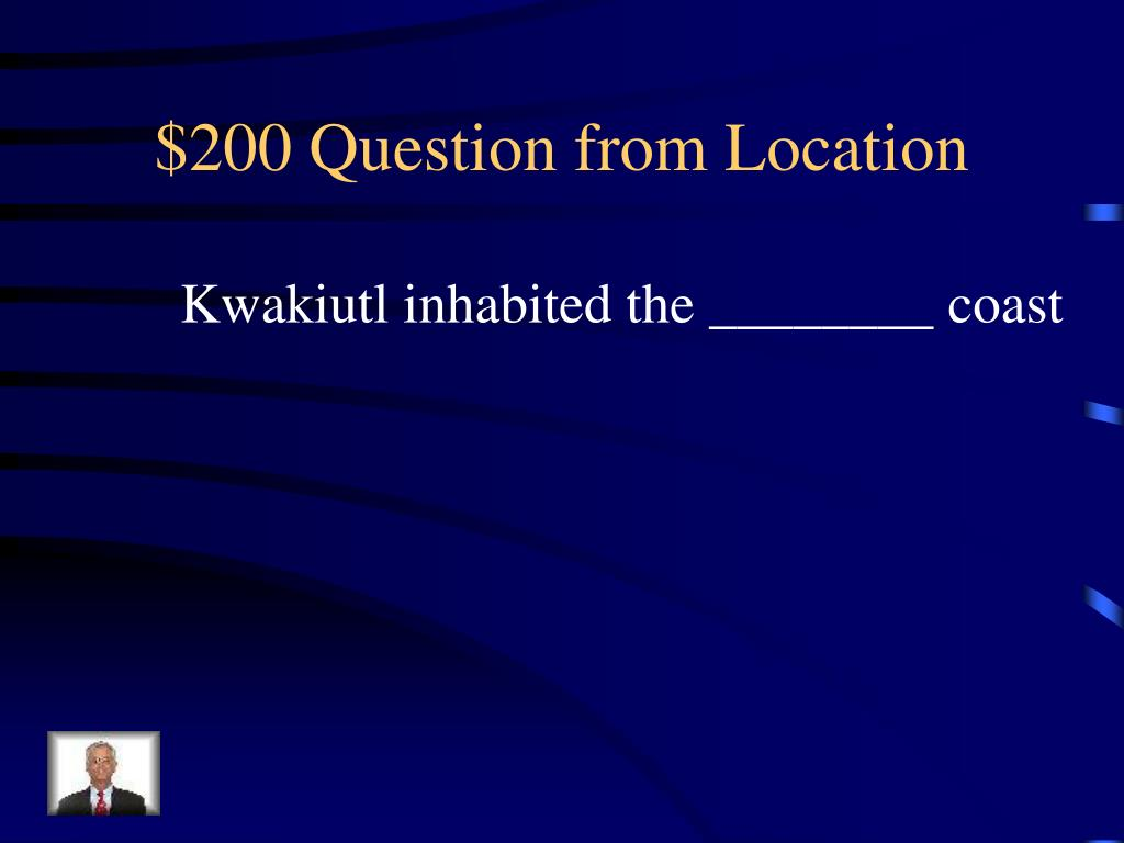 $200 Question from Location