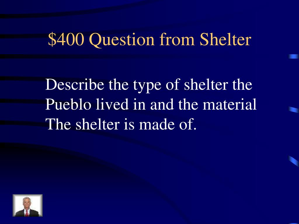 $400 Question from Shelter