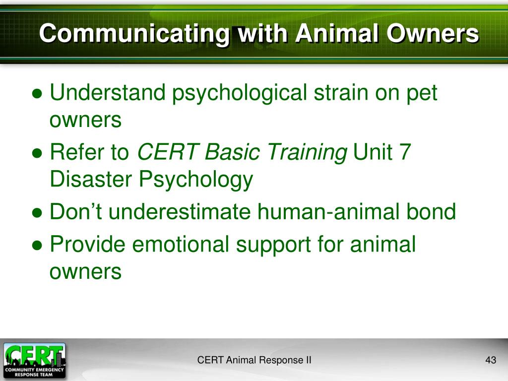 Understand psychological strain on pet owners