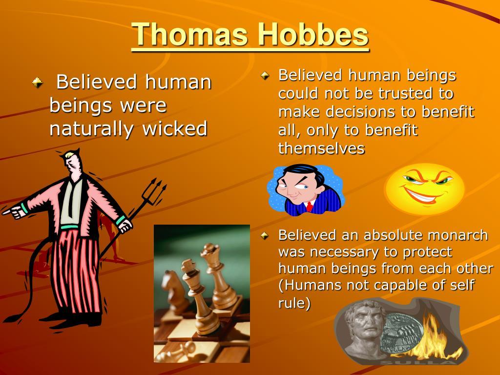 beliefs of thomas hobbes