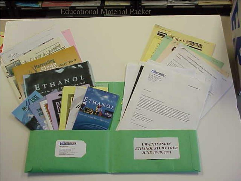 Educational Material Packet