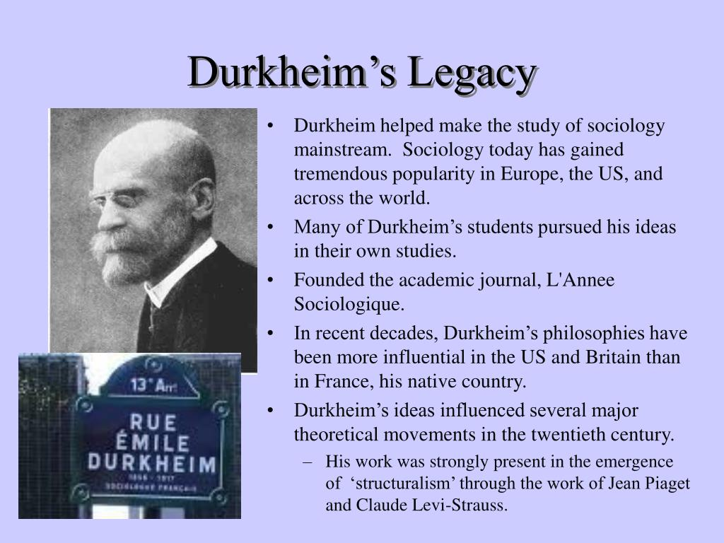 a discussion on emile durkheims studies on the cause of suicide Where suicide focused on a large  the durkheim's sociology of religion and its  durkheim held that the origin and cause of religion lie in social.