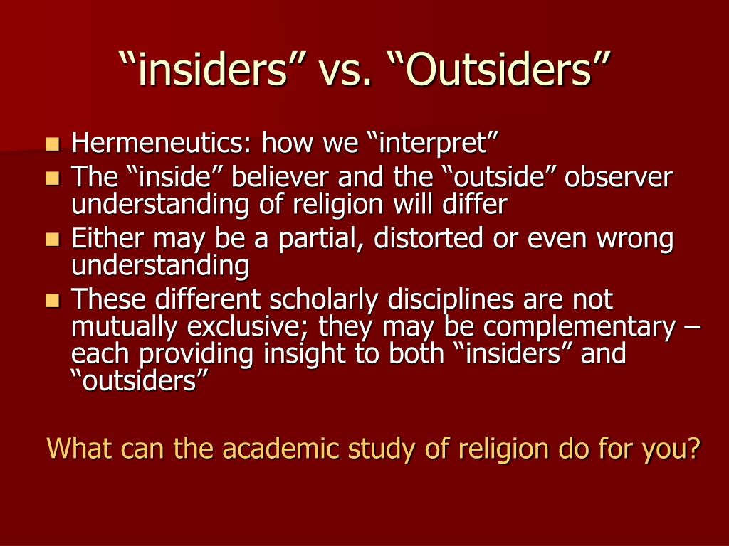intertextuality insiders vs outsiders Use this cliffsnotes the outsiders book summary & study guide today to ace your next test get free homework help on se hinton's the outsiders: book summary, chapter summary and analysis.