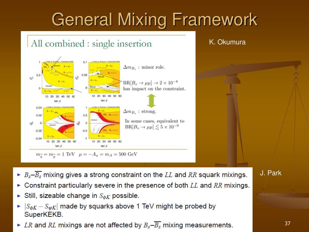 General Mixing Framework