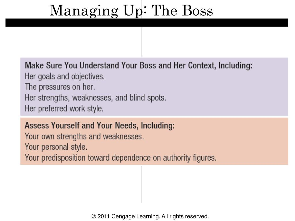 Managing Up: The Boss