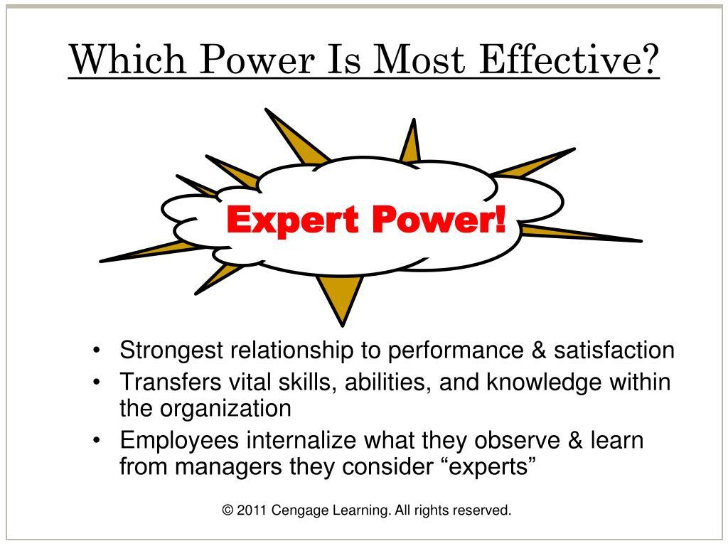 Expert Power!