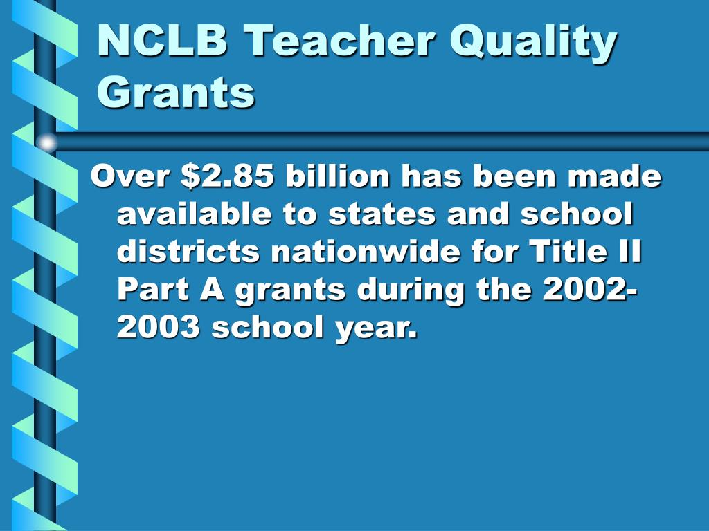 NCLB Teacher Quality Grants