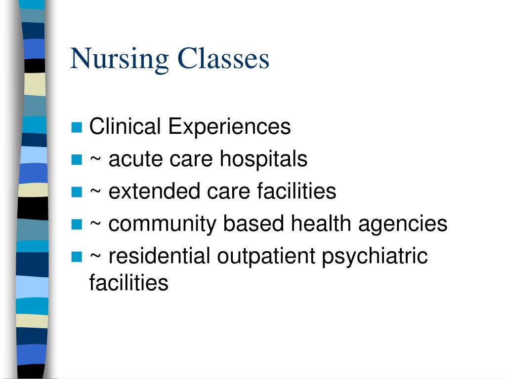 Nursing Classes