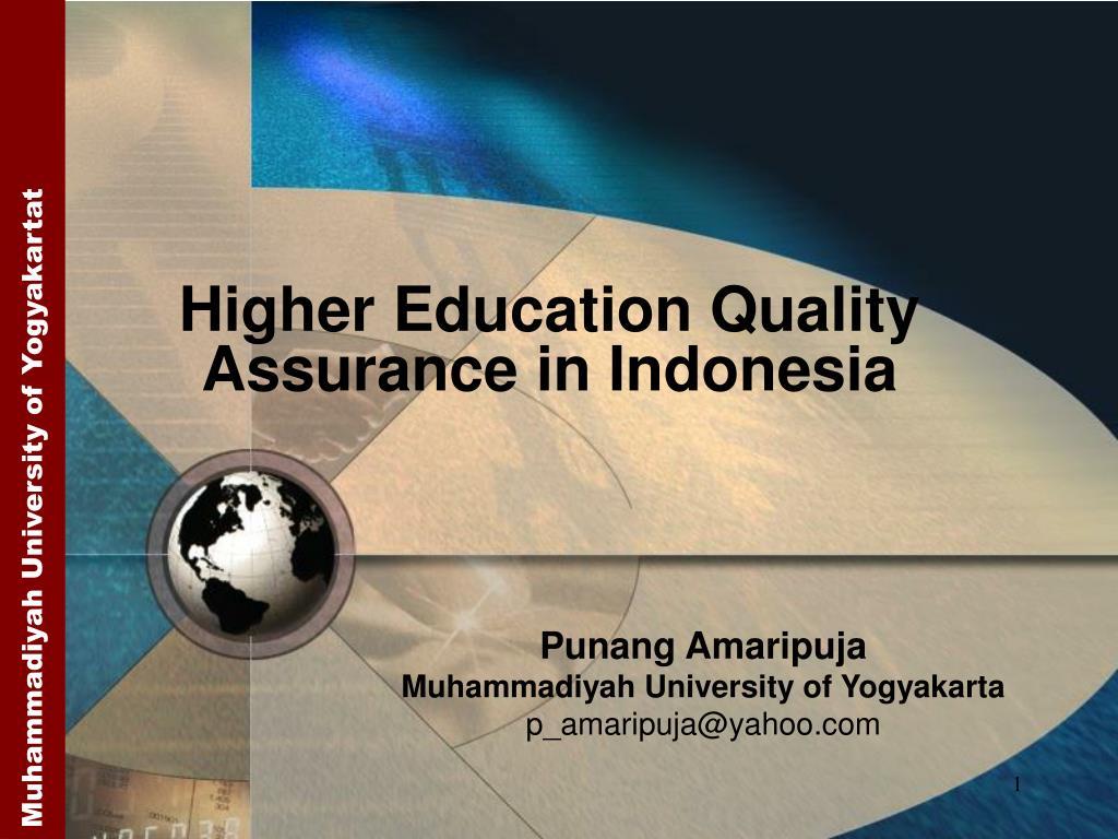 punang amaripuja muhammadiyah university of yogyakarta p amaripuja@yahoo com