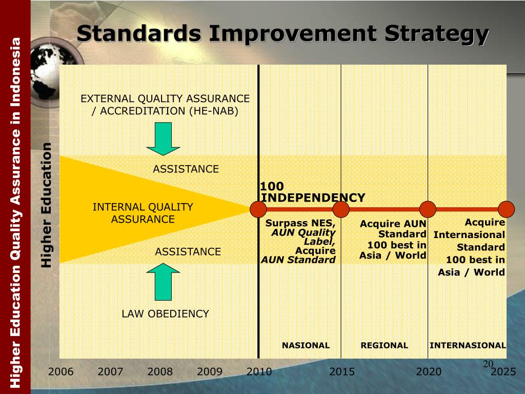 Standards Improvement Strategy