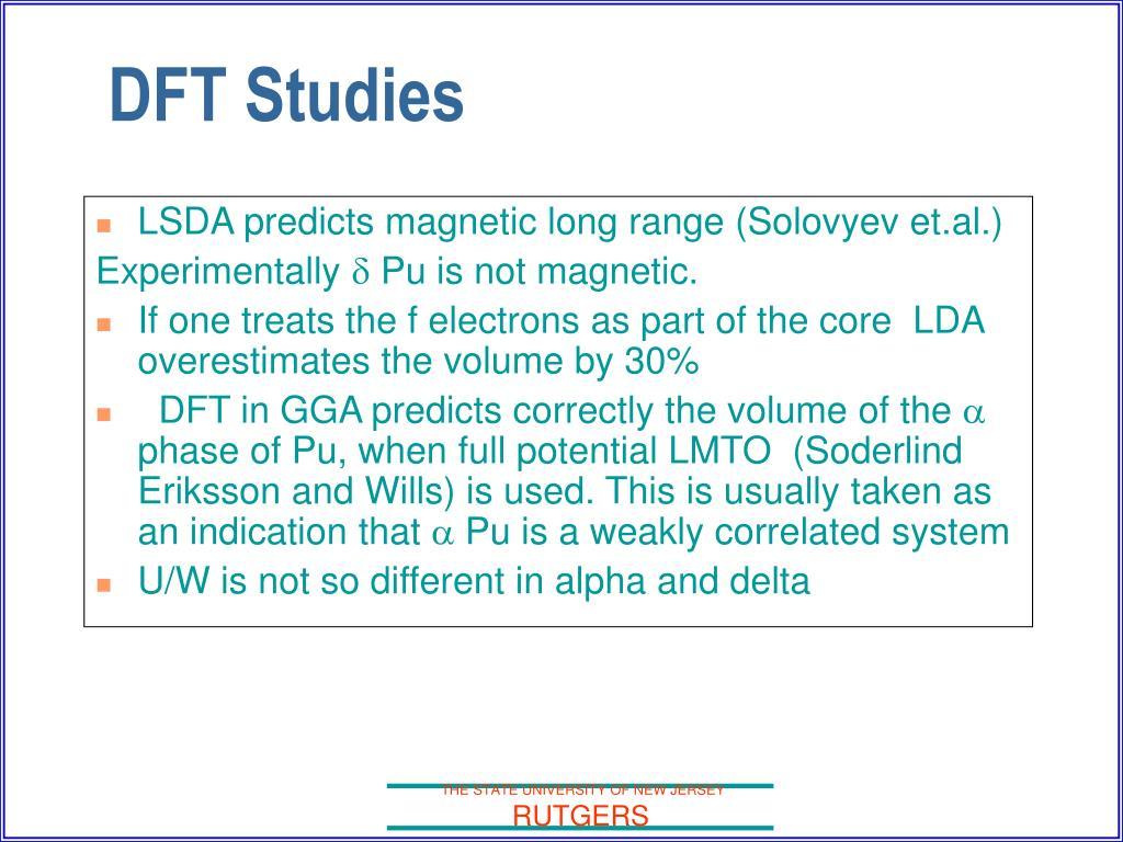 LSDA predicts magnetic long range (Solovyev et.al.)