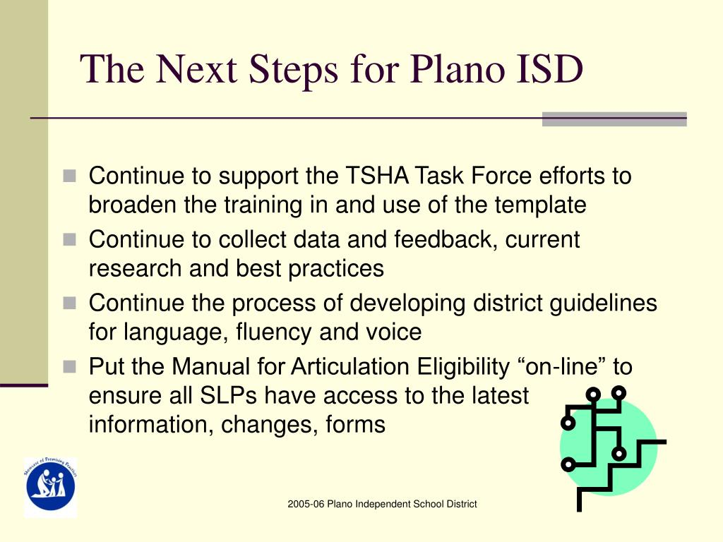The Next Steps for Plano ISD