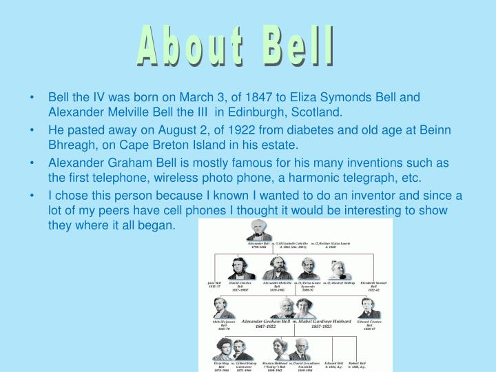 About Bell
