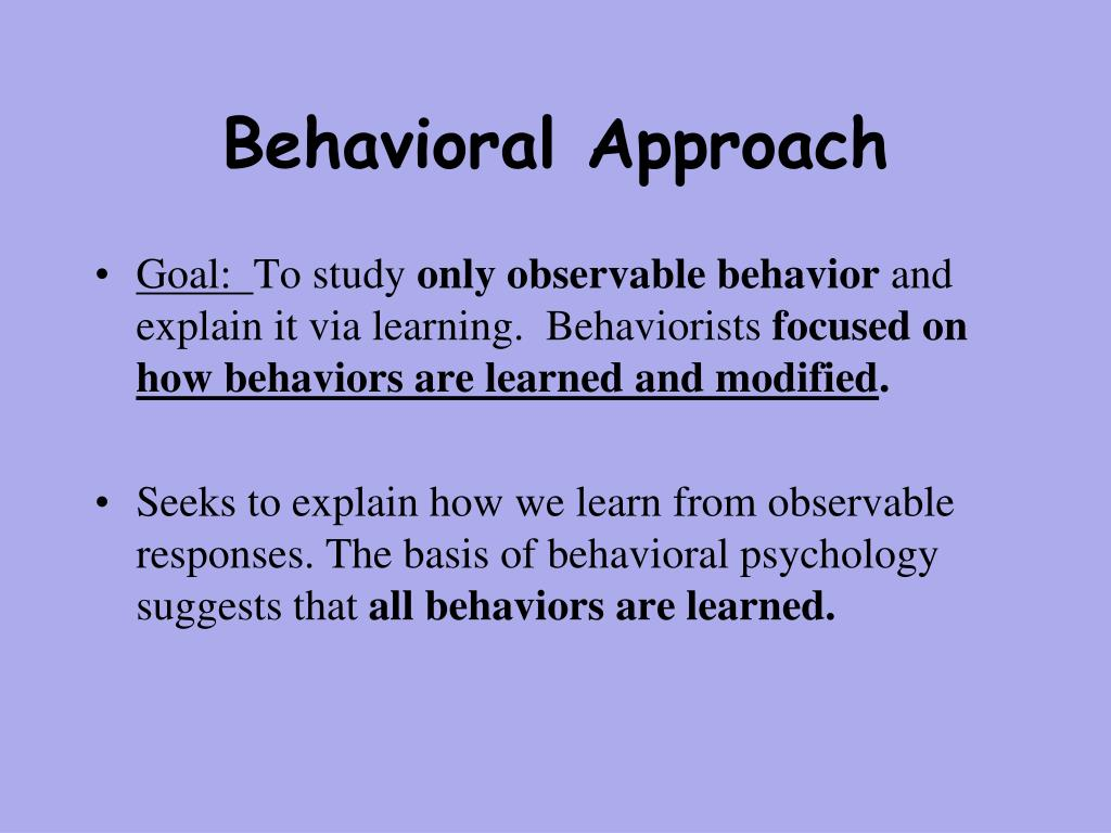 behavior approach system Behavioral approach and avoidance systems [last edited 2-20-15] several theorists have argued that two general motivational systems underlie animal behavior.