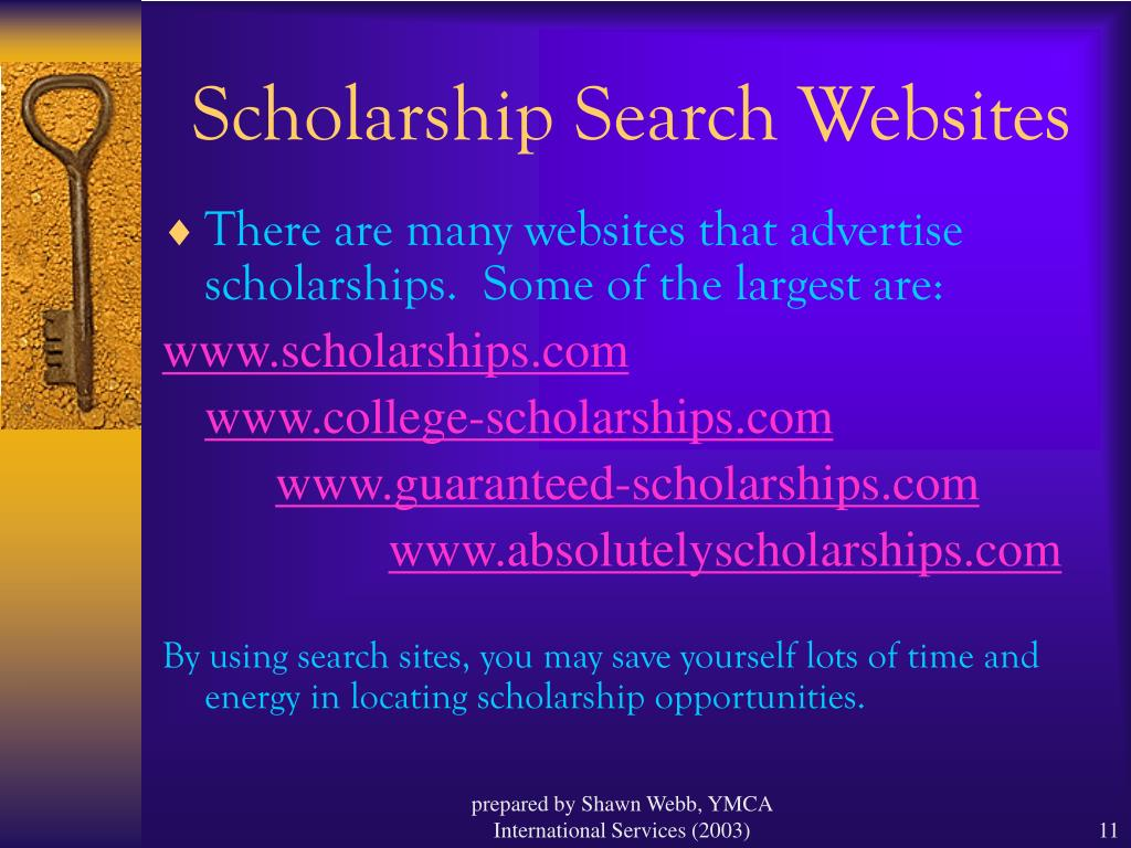 Scholarship Search Websites