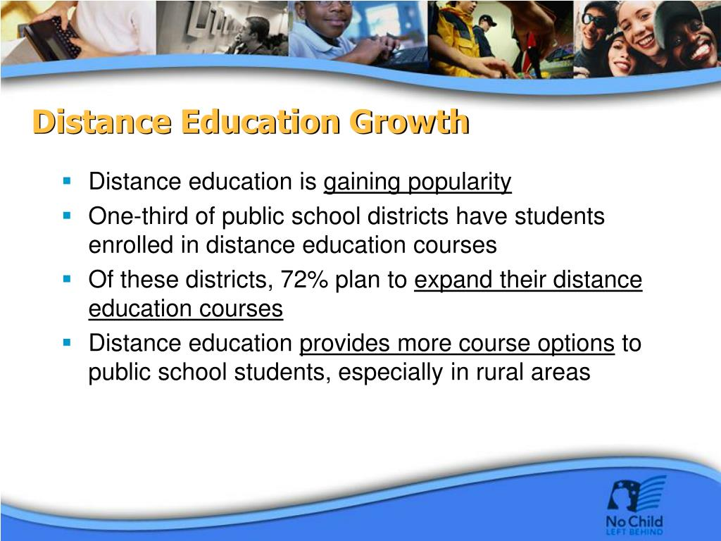 Distance Education Growth