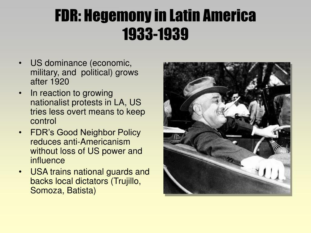 an analysis of the political power in latin america after world war two Th e war even briefl y reached north america and mainland australia world war ii  world economies and political systems  chapter two world war ii.