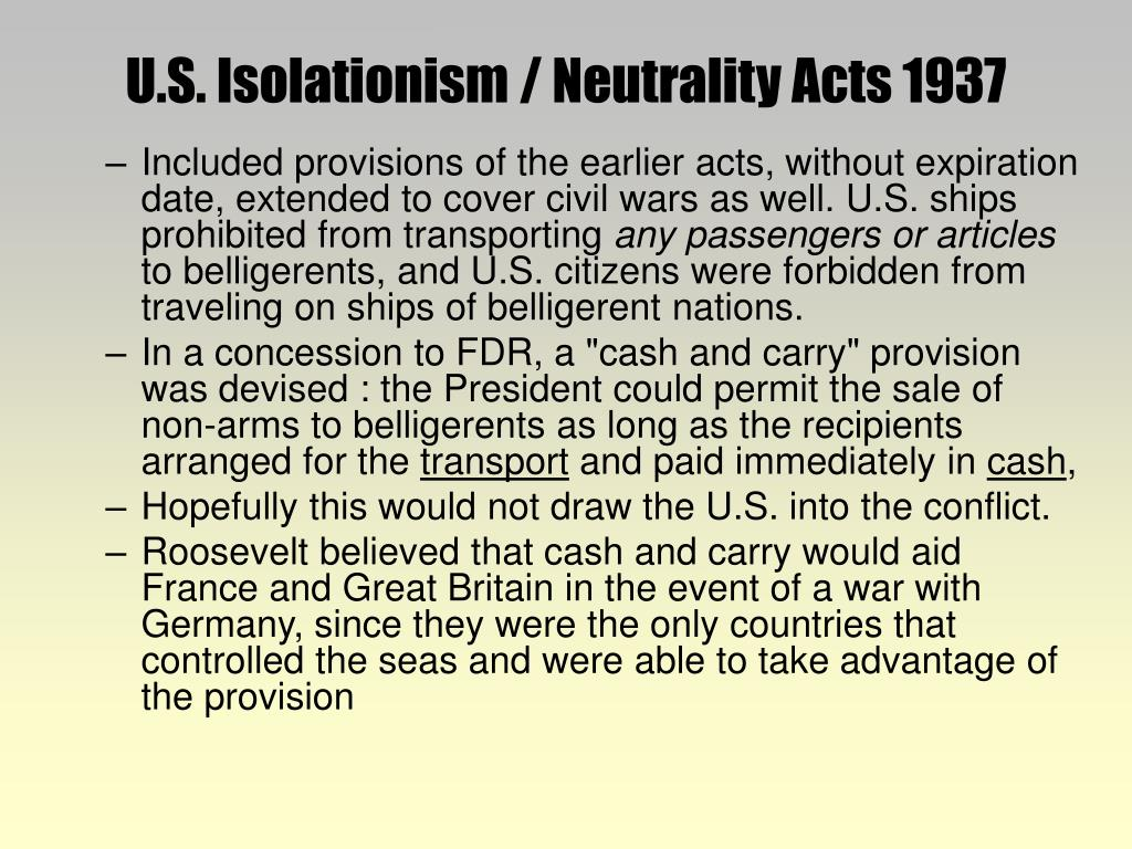 u.s. isolationism essay Us isolationism in the 1910s and 1920s and periodically stationing us marines in nicaragua us isolationism 1919-41 essayhow far was us.