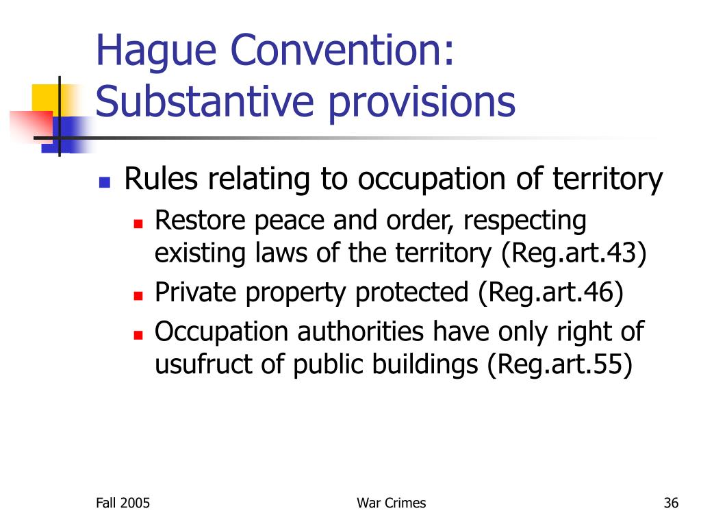 Hague Convention:
