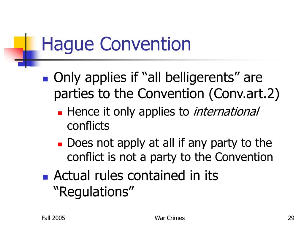Hague Convention