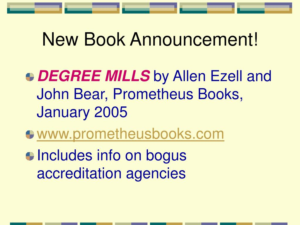 New Book Announcement!