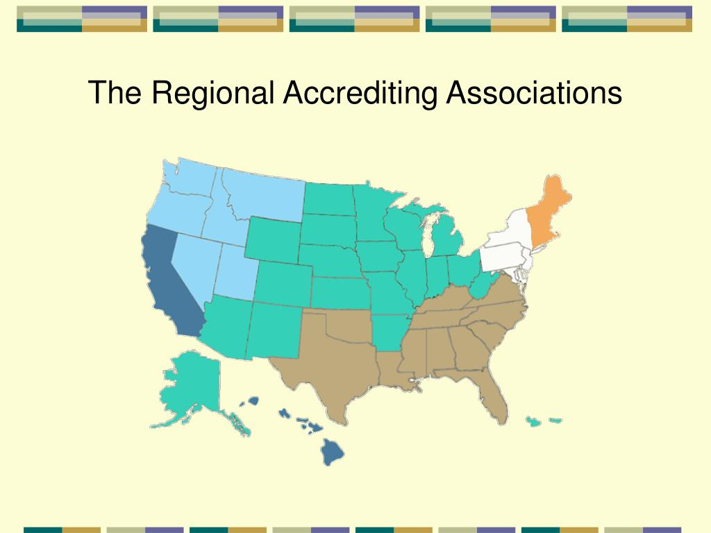 The Regional Accrediting Associations