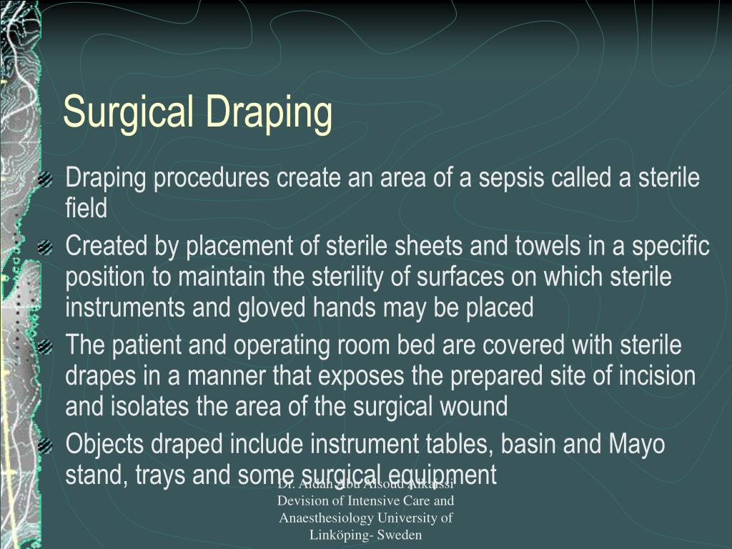 Surgical Draping