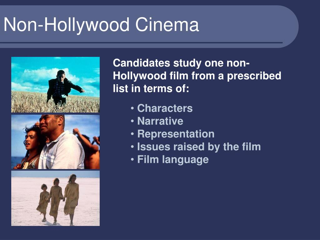 Non-Hollywood Cinema