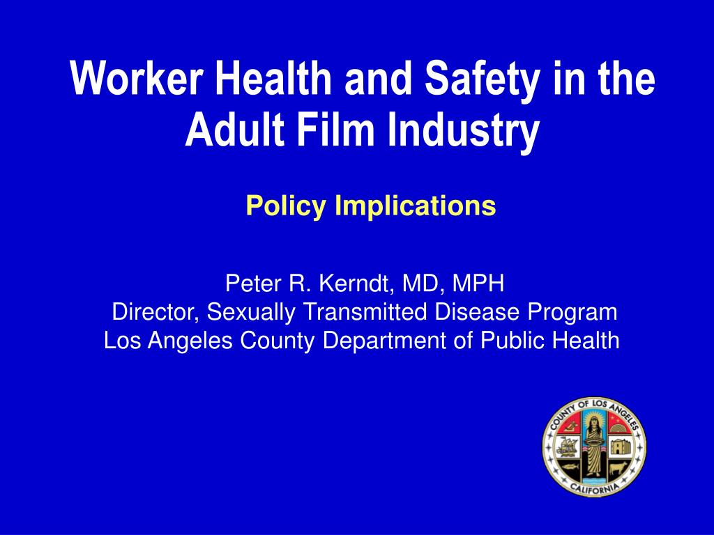 worker health and safety in the adult film industry