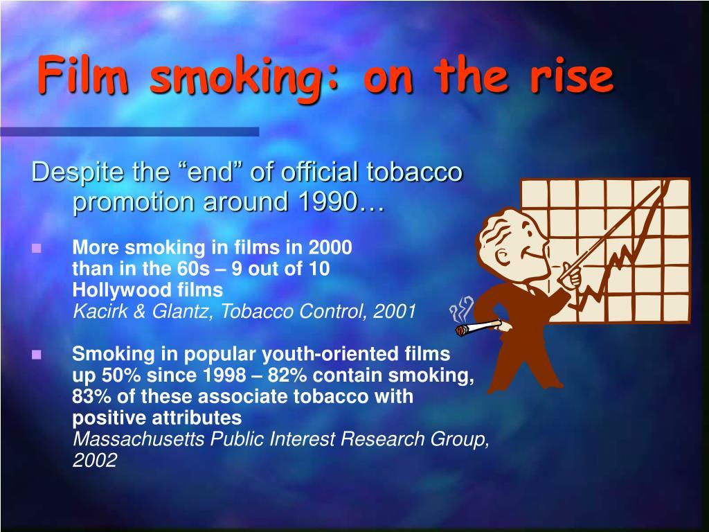 Film smoking: on the rise