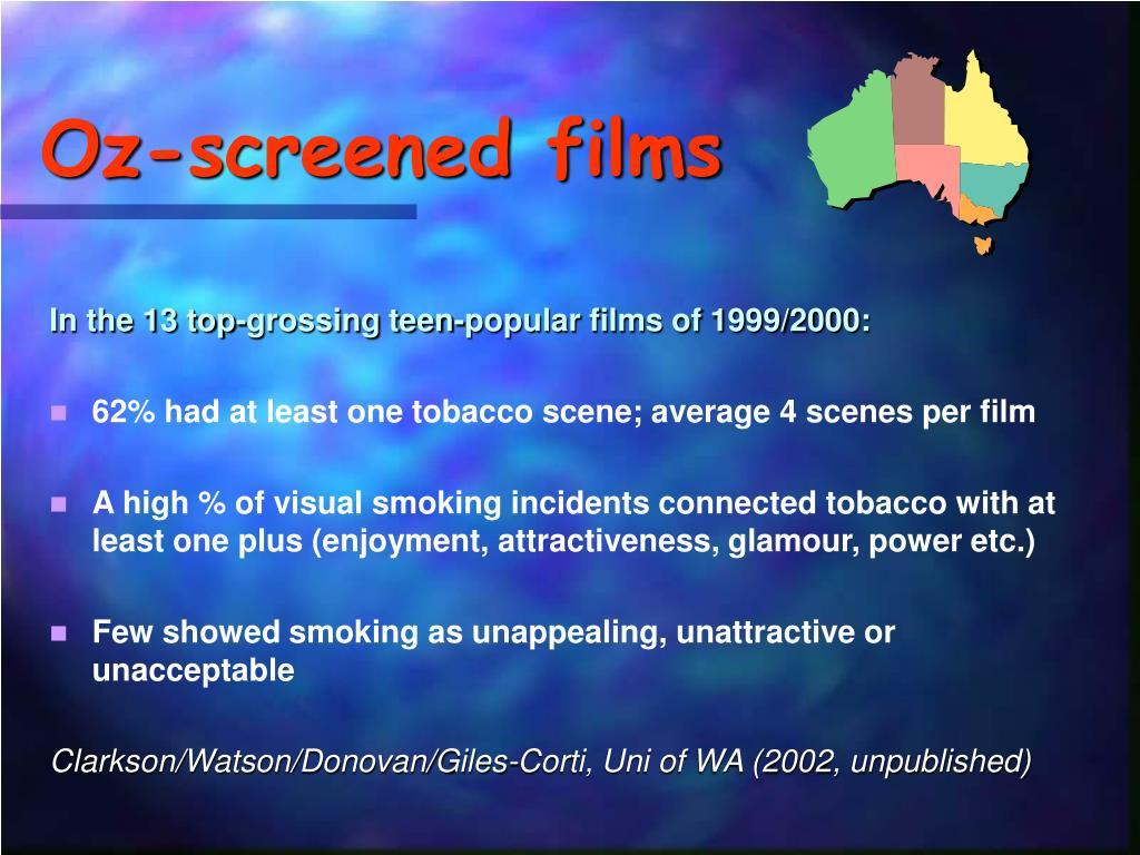 Oz-screened films