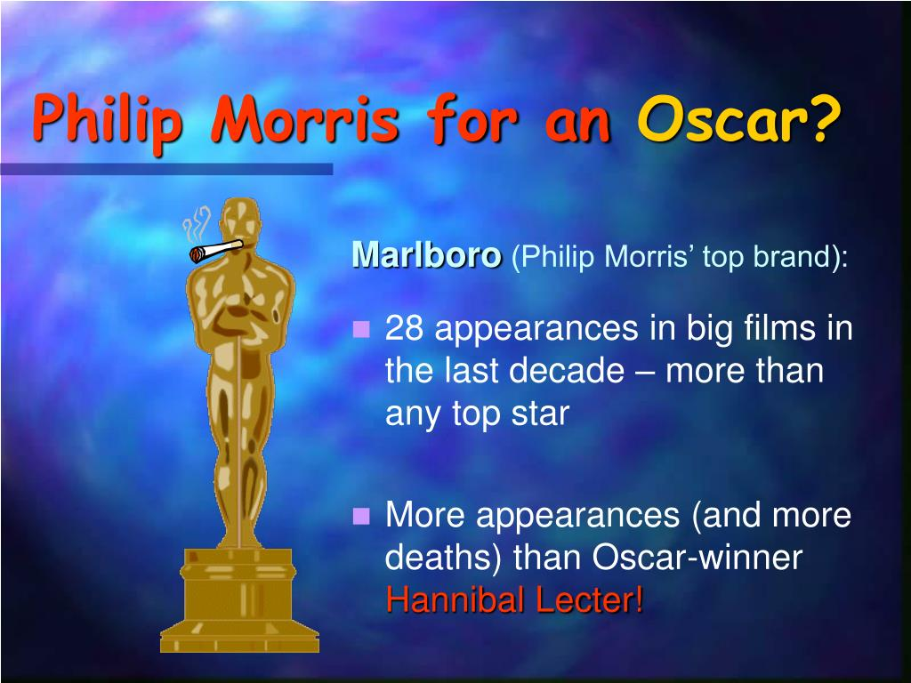 Philip Morris for an