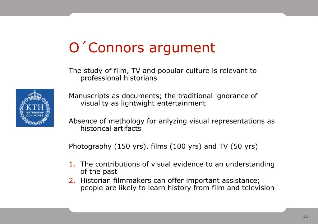 O´Connors argument