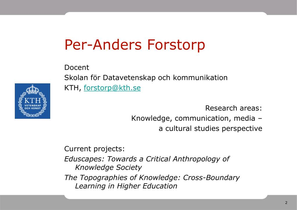 Per-Anders Forstorp