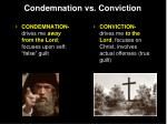 condemnation vs conviction