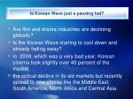 is korean wave just a passing fad