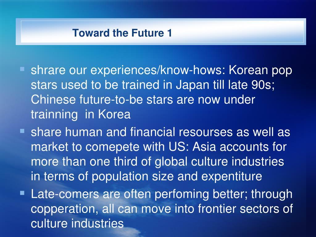 Toward the Future 1