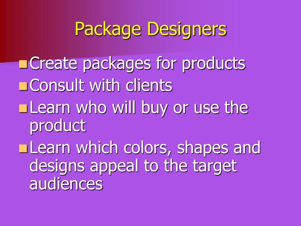 Package Designers