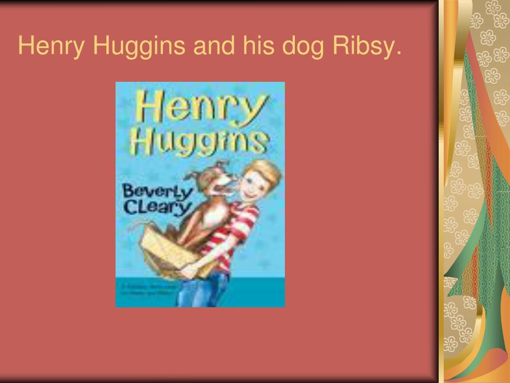Henry Huggins and his dog Ribsy.