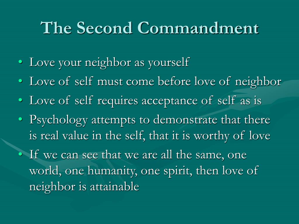 The Second Commandment