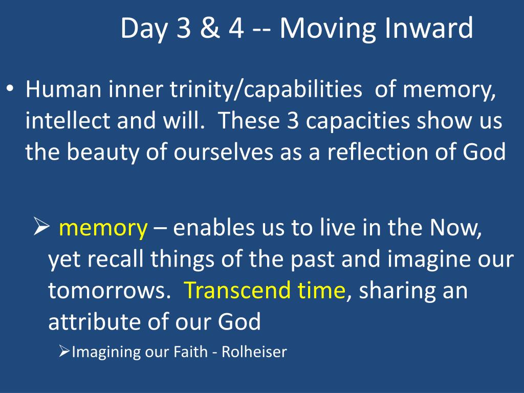 Day 3 & 4 -- Moving Inward