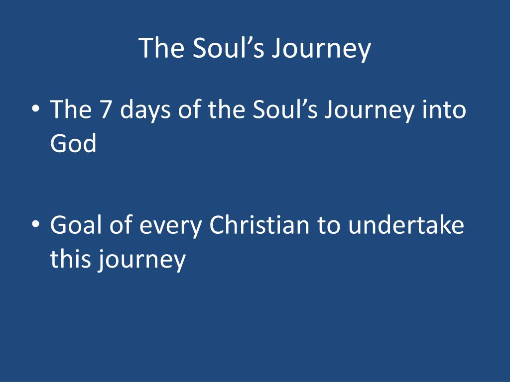 The Soul's Journey