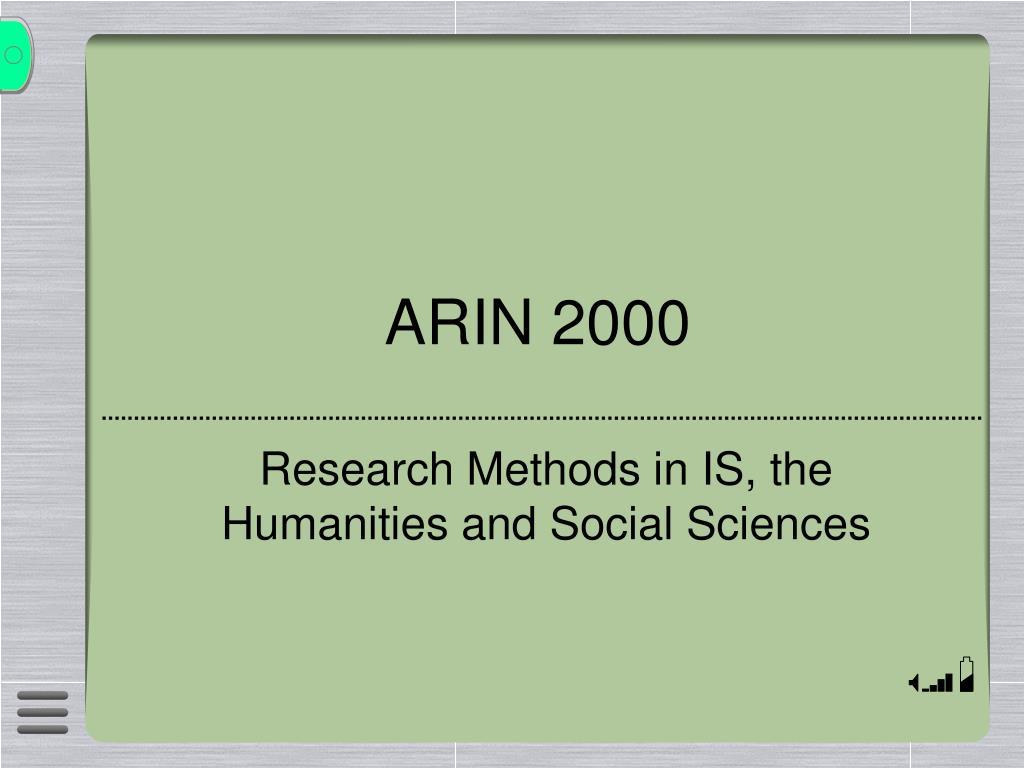 ARIN 2000