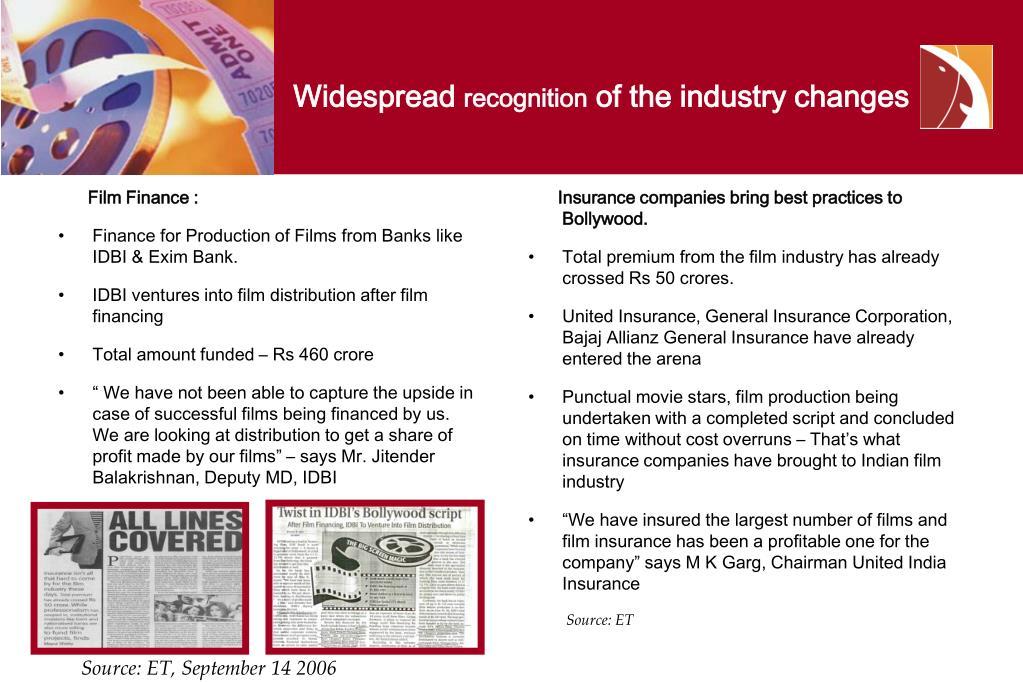Film Finance :