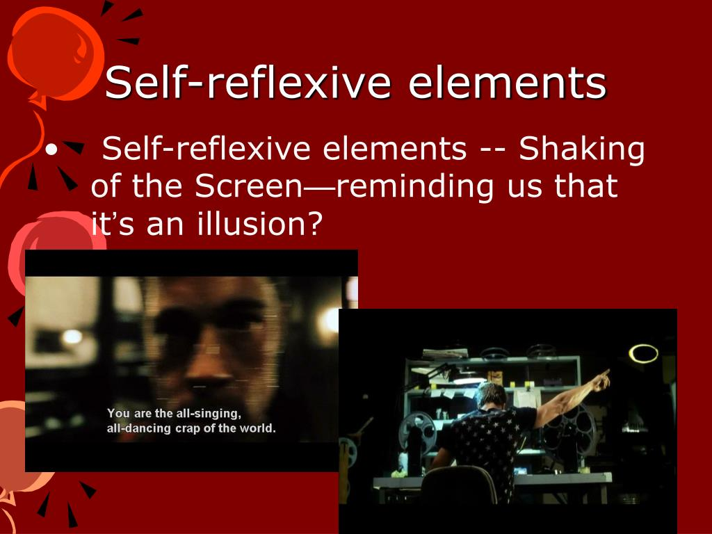 Self-reflexive elements