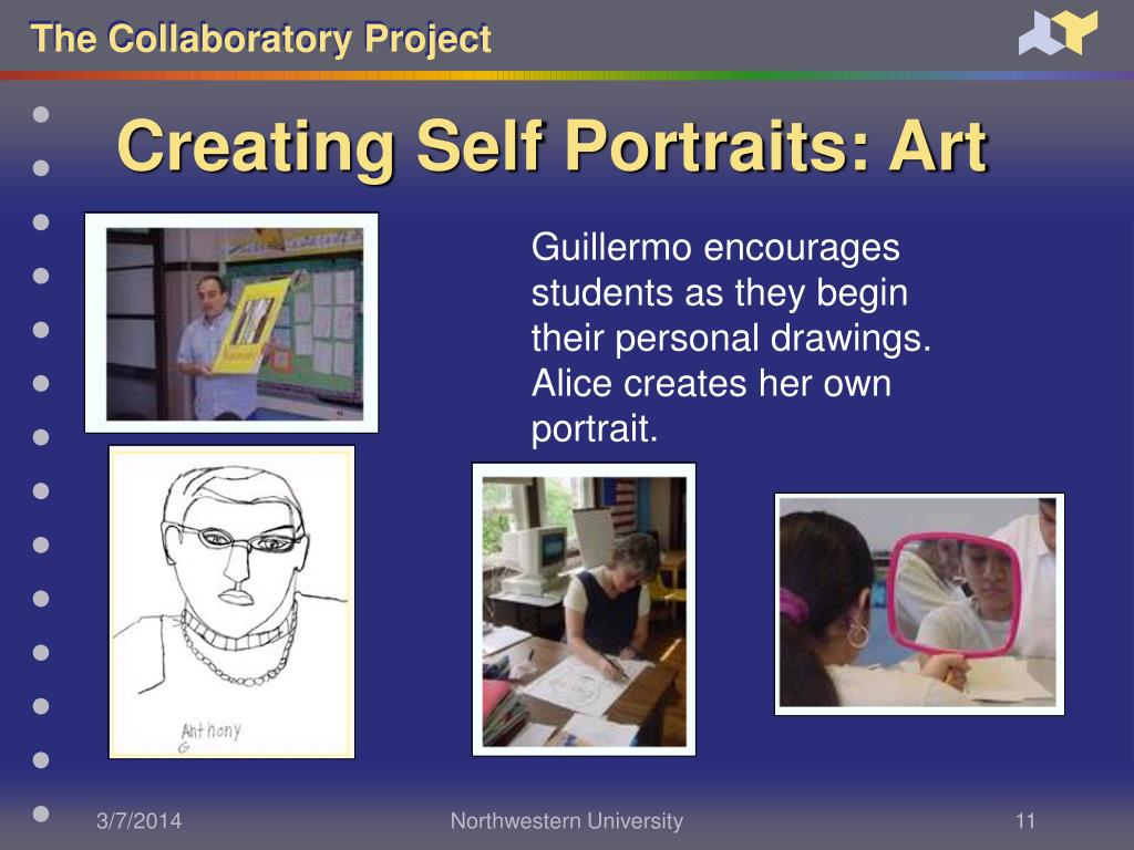 Creating Self Portraits: Art