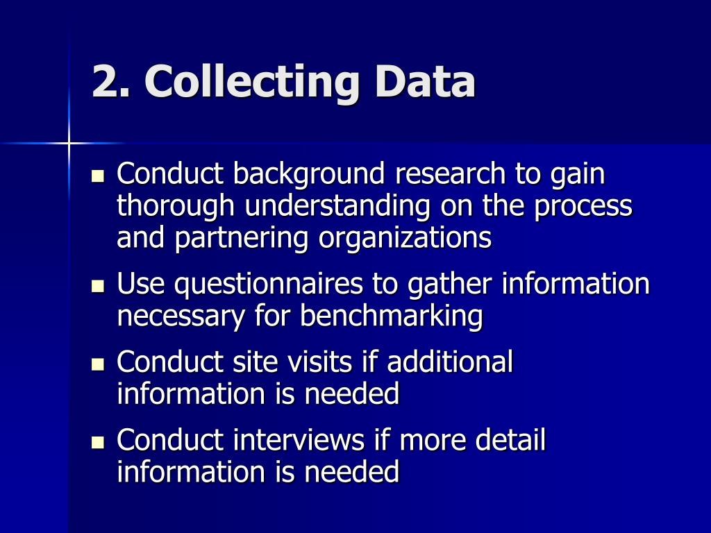 2. Collecting Data