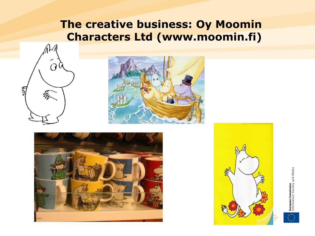 The creative business: Oy Moomin Characters Ltd (www.moomin.fi)